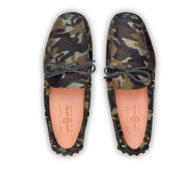 car shoes camouflage Drive Crazy